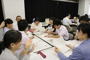 千葉県教員研修会 即興型英語ディベート研修